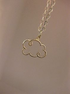 Hey, I found this really awesome Etsy listing at https://www.etsy.com/listing/264088387/cloud-necklace-sterling-silver-small