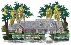 Eplans Colonial House Plan - A Distinctive Exterior - 3270 Square Feet and 4 Bedrooms from Eplans - House Plan Code HWEPL02064