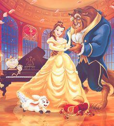 36 Trendy wedding couple cartoon beauty and the beast Walt Disney, Fera Disney, Disney Couples, Disney Girls, Disney Love, Disney Magic, Disney Pixar, Disney Princess Belle, Disney Princesses And Princes