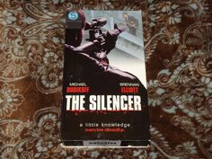 The Silencer (VHS, 2000) Rare OOP 1st Trimark '90s Michael Dudikoff *NOT ON DVD*