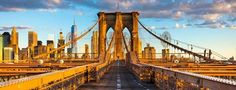 The Brooklyn Bridge, New York - The Brooklyn Bridge, New York The Brooklyn Bridge opened to commuters on this day in 1883. But seven years earlier, the land-side anchorage structures opened for another kind of business: wine storage. To help offset the $1