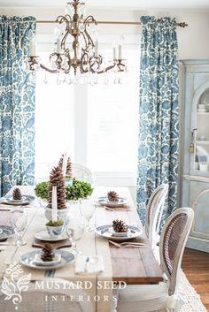 Transitional table setting - Joss & Main #holidayhostess event! - Miss Mustard Seed