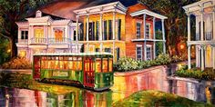 Twilight on St Charles Ave ~ Diane Millsap