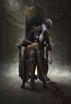 ArtStation - Lady Maria of the Astral Clocktower, wenfei ye