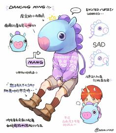 Hobi/ Mang is AN UNICORN WTAF, I LOVE THIS CONCEPT