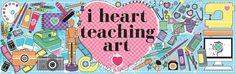 i heart teaching art