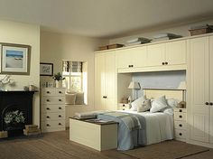 Cool Decoration Ideas Feats Minimalist Bed Frame With Headboard And Lovely Closet Systems With Doors In Fetching Bedroom Design Ideas: Finding The Most Interesting Interior Room Design With Cute Decoration Ideas ~ curliqplus.com Apartment Inspiration