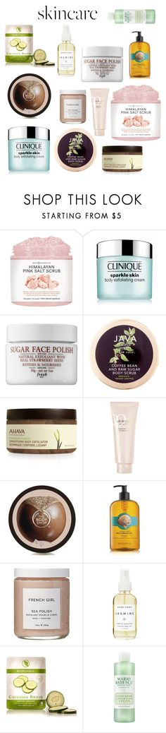 """Silky Smooth"" by mangomai ❤ liked on Polyvore featuring beauty, Clinique, Java, Ahava, Clé de Peau Beauté, French Girl, Herbivore, SkinCare, BioRepublic and Mario Badescu Skin Care"