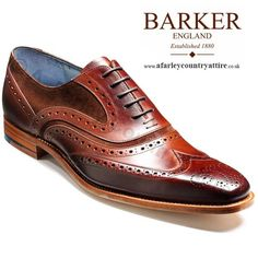 Barker Shoes - McClean Brown Calf & Snuff Suede - NEW SS14 -  Be the first to own a pair of these. http://www.afarleycountryattire.co.uk/shop/barker-shoes-mcclean-brown-calf-snuff-suede/ #SS14 #BarkerShoes
