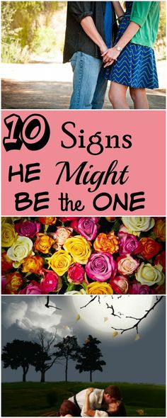 Signs He Might Be the One For You