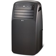 LG 12,000 BTU 115V Portable Air Conditioner with LCD Remote Control, black ** You can get additional details at the image link.