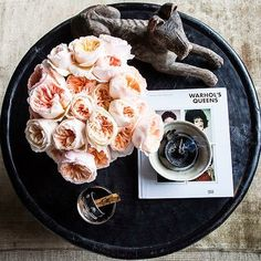 Fabulous Room Friday 05.30.14 | Coffee Table Styling by Benjamin Vandiver