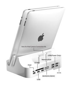 iPADock  The ultimate iPad iPhone dock accommodates all your devices  Gadgets And Gizmos 1de6ee7462f39