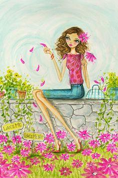 """Springtime at Summerside #4"" By Bella Pilar Canvas Print #BPR202"