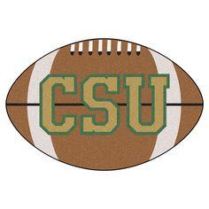 CSU Rams Touchdown Football Area Rug