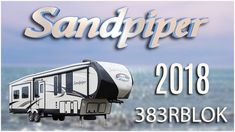 2018 Forest River Sandpiper 383RBLOK Fifth Wheel RV For Sale TerryTown RV Superstore Check out 2018 Sandpiper 383RBLOK now at http://ift.tt/2t47kB8 or call TerryTown RV today at 616-426-6407!   The 2018 Sandpiper 383RBLOK fifth wheel is luxurious for modern camping families!    This elegant rig features color match high-gloss gel-coated fiberglass walls including a two-toned aerodynamic front cap with improved turning radius. The cap also has LED hitch accent lighting along with storage…