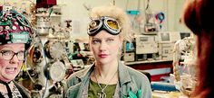 Just gotta love that the both of the two glorious times Holtzmann winks in the movie it's to Erin *cough* Holtzbert *cough*