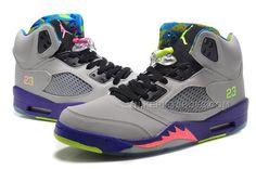 c5aabf7b1172 Jordan 5 V Bel Air Cool Grey Court Purple Game Royal Club Pink