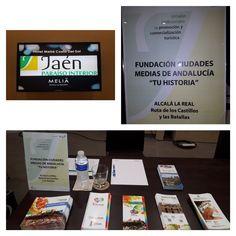 #AlcalálaReal ha participado en las #JornadasProfesionalesdePromociónyComercializaciónTurística organizadas por @dipujaen @tu_historia en #Torremolinos @MeliaHtlResorts #experiencias. Éxito de participación! #operadoresturísticos