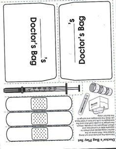 1000 images about preschool theme community helpers on for D is for doctor coloring page