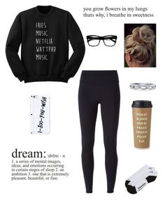 """""""~ Couldn't Love Me If You Tried"""" by delahunty-ashton ❤ liked on Polyvore featuring NIKE, adidas, Retrò, BERRICLE and Kate Spade"""
