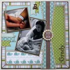 Scrapbook Layout by lisa.bakerburger