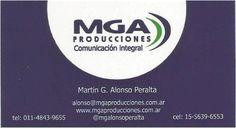 Nueva tarjeta institucional by Macarena Flores