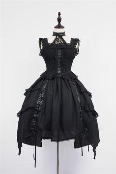 ✨✨ #LolitaUpdate: [-✙✙-Undead Waltz-✙✙-] Lolita Jumper Dress