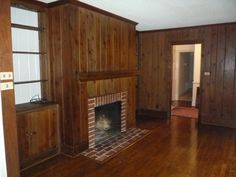 paint wood paneling before and after pictures | Painted Paneling B Photos!