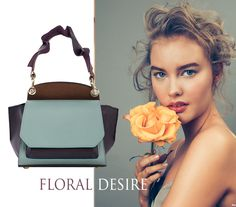 With a unique modern design, the Scarlett leather bags inspire a wonderful femininity especially when worn with floral prints, silky dresses and romantic tops. Their suave ruffles give you a refined look while their delicate chromatic make you get easily noticed.