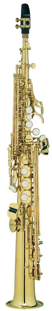 Chateau Straight Soprano Saxophone Best Student Model - Lacquer Finish VCH-242L #Chateau
