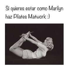 "@inspirahpilates's photo: ""Si quieres estar como Marilyn, haz #Pilates Matwork Rocking on Stomach <3"""