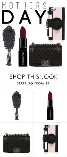 """All she needs ⚫️⬜️"" by ieshajanayy ❤ liked on Polyvore featuring Smashbox, Chanel, Kate Spade and mothersdaygiftguide"