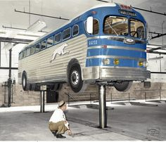 1947 Greyhound Silversides