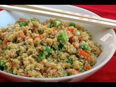 Skinny Quinoa and Vegetable Stir-Fry #asian #skinny