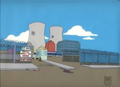 background Springfield Nuclear Power Plant