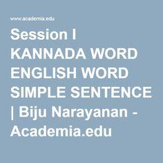 kannada to english sentence translation pdf