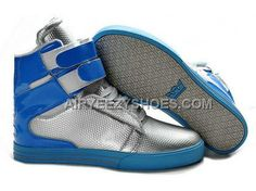 73c0cdbb3275 Supra TK Society Silver Blue Men s Shoes