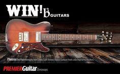 Premier Guitar - Win a B3 Guitars Phoenix - http://sweepstakesden.com/premier-guitar-win-a-b3-guitars-phoenix/