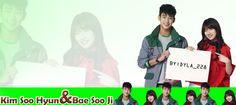 Kim Soo Hyun And Bae Soo Ji :D