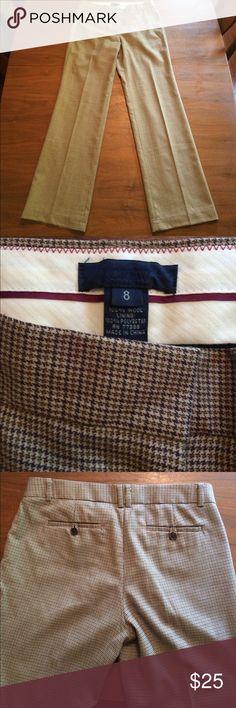 "Plaid 100% Wool Lined Work Dress Pants J Crew Beautiful, subtle classic plaid design. Timeless design. Fully lined. Inseam: 33"" , Waist: 34.5"" J. Crew Pants Straight Leg"