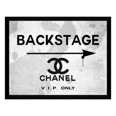 Picture Perfect 'Backstage Chanel' Fine Art Print ($50) ❤ liked on Polyvore featuring home, home decor, wall art, white, white wall art and white home decor