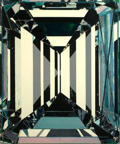Jared Sprecher Inbild, 2008 Oil on Linen, 72 x 60 inches