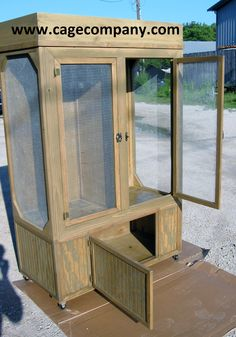 reptile cage great enclosure for chameleons iguanas..many habitat designs to choose from