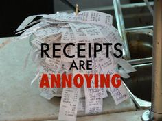 Keeping track of receipts for your small business is very important: it keeps you organized, keeps you on budget, and can be a big money-saver when you file deductions at tax time. The IRS is not a big fan of estimating your expenses. If you are going to claim a deduction, you're going to need: When: The date of the transaction Where: Where you bought the item What: What the item was Why: What purpose it served in your business When, where, and what are generally found on a receipt, ...