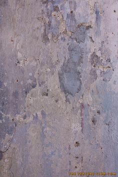 Blue grungy concrete wall