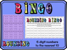 Rounding to the nearest 10 with 7 digit numbers BINGO Rounding Activities, Learning Activities, Tes Resources, Teaching Resources, Easter Jokes, Math Bingo, Dice Template, Assessment For Learning