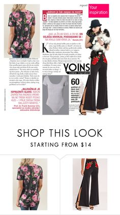 """Yoins-48 (238)"" by irinavsl ❤ liked on Polyvore featuring yoins, yoinscollection and loveyoins"