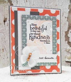Just Because - Verve Stamps Inspiration Gallery