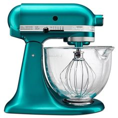 Sea Glass 5-qt. Artisan Design Series Stand Mixer found on Polyvore
